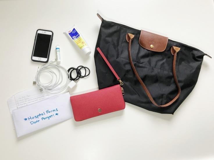 Labor bag items