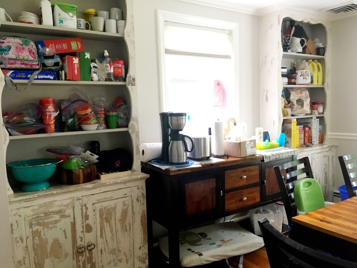 Kitchen dining room renovation