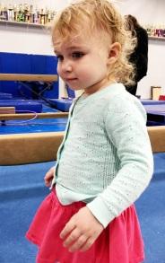 Kat gymnastic closeup