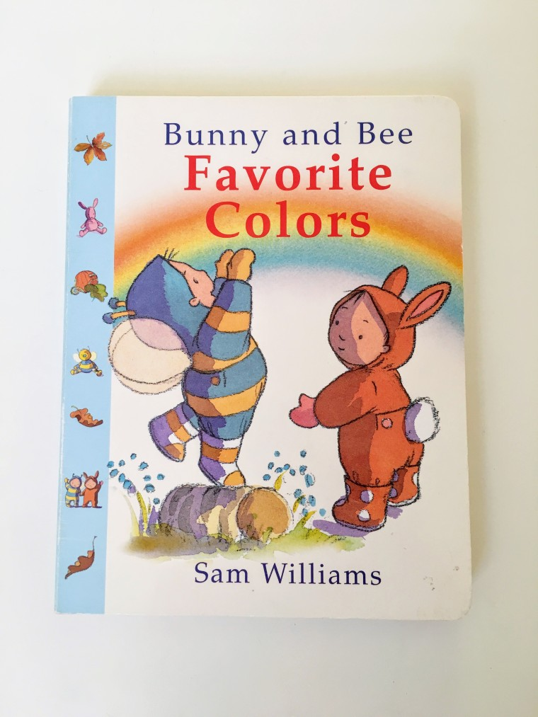 Bunny and Bee Favorite Colors book