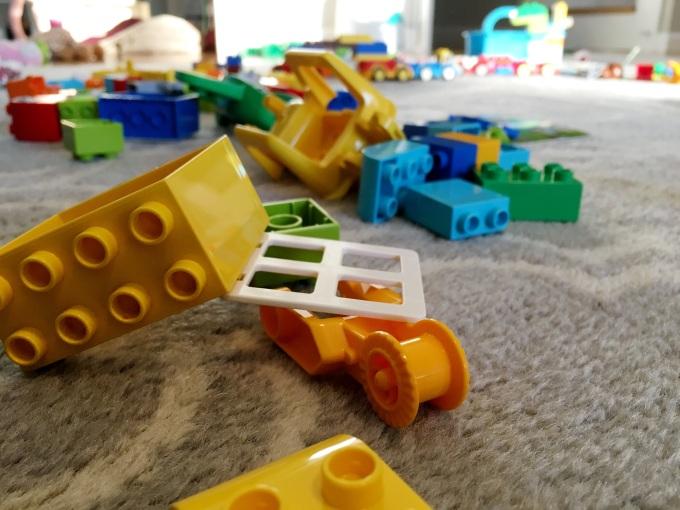 Lego mess