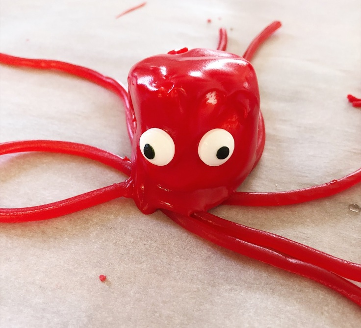 marshmallow octopus