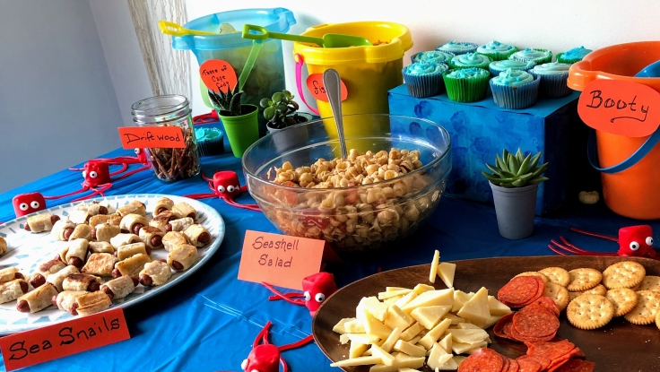 Octonauts party food