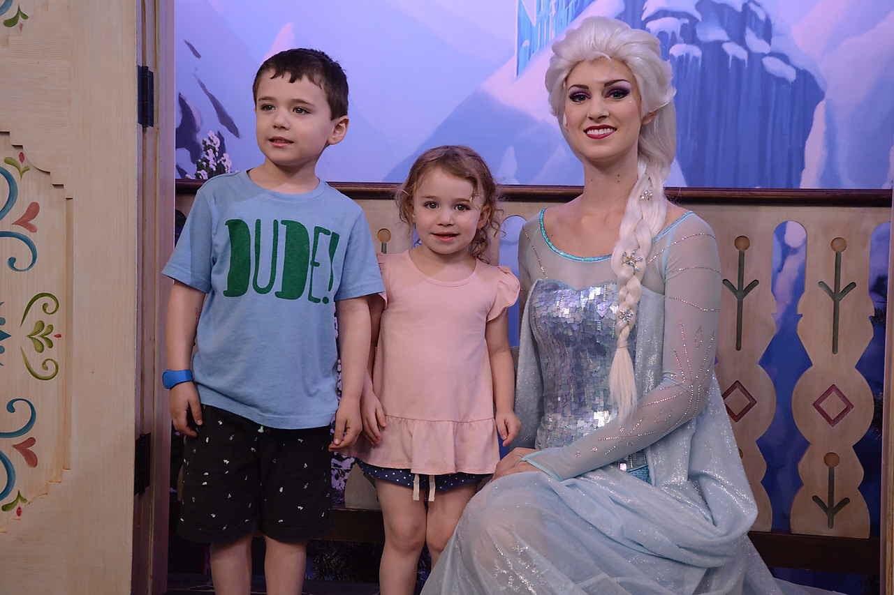 Reece, Kat and Elsa