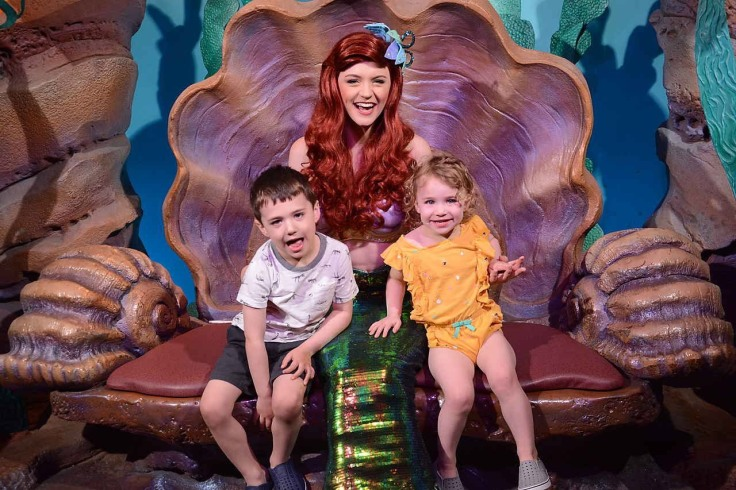 Reece and Kat with Ariel