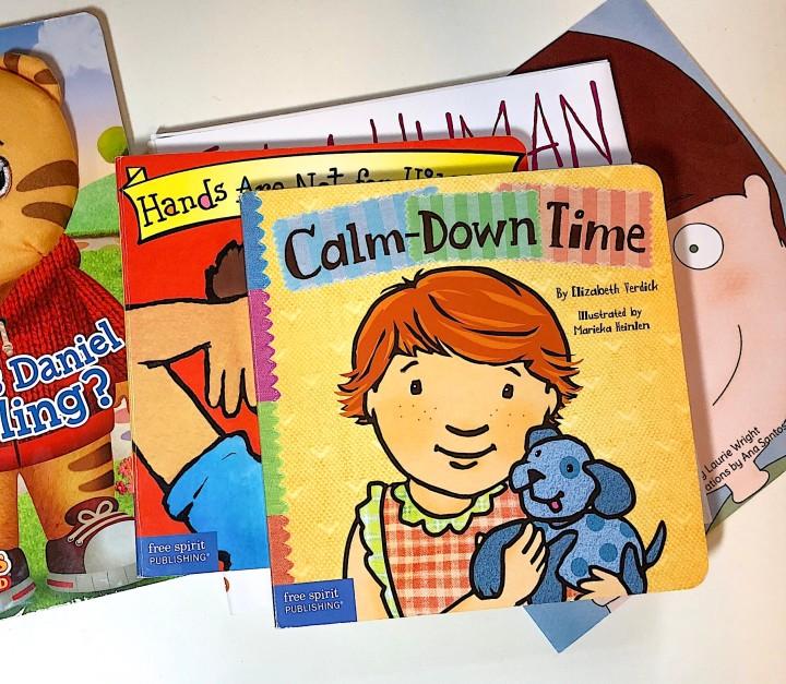 Calm-Down Time - book