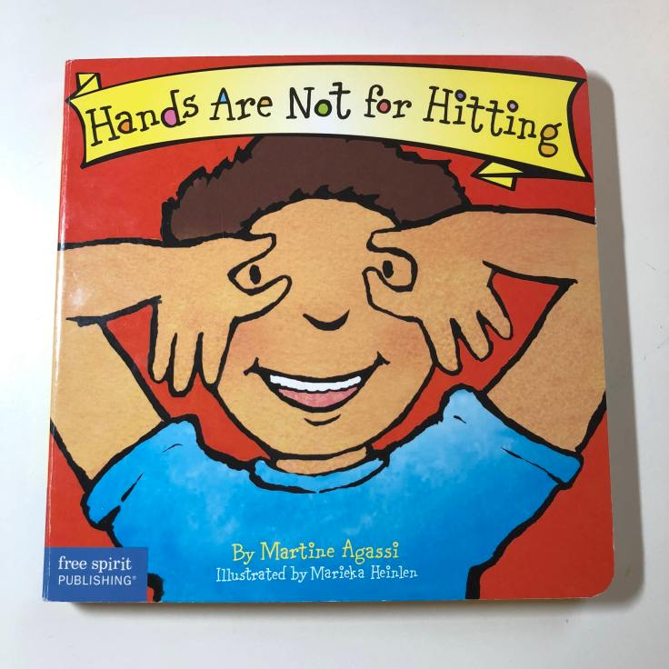 Hands Are Not for Hitting - book