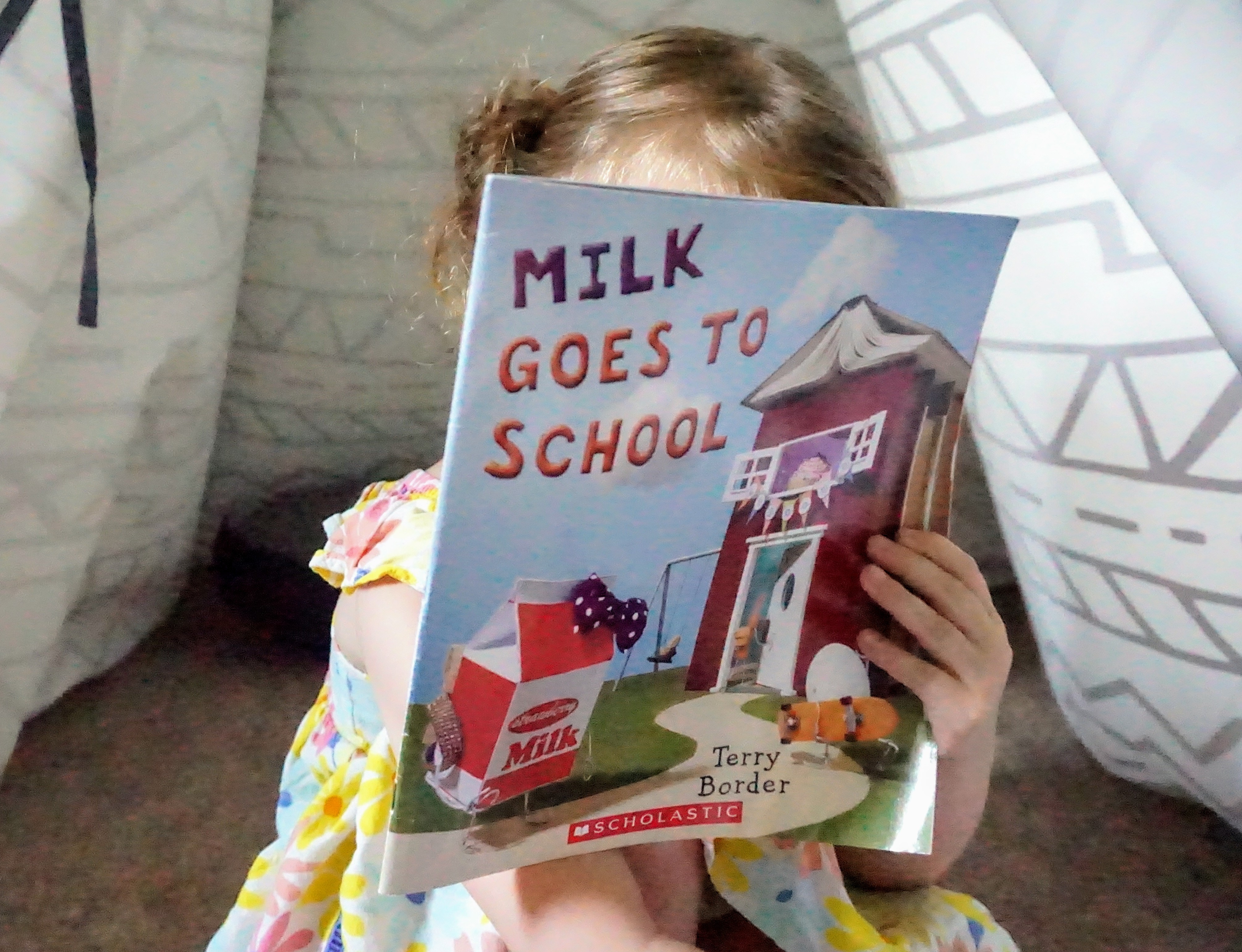 Milk Goes to School picture book