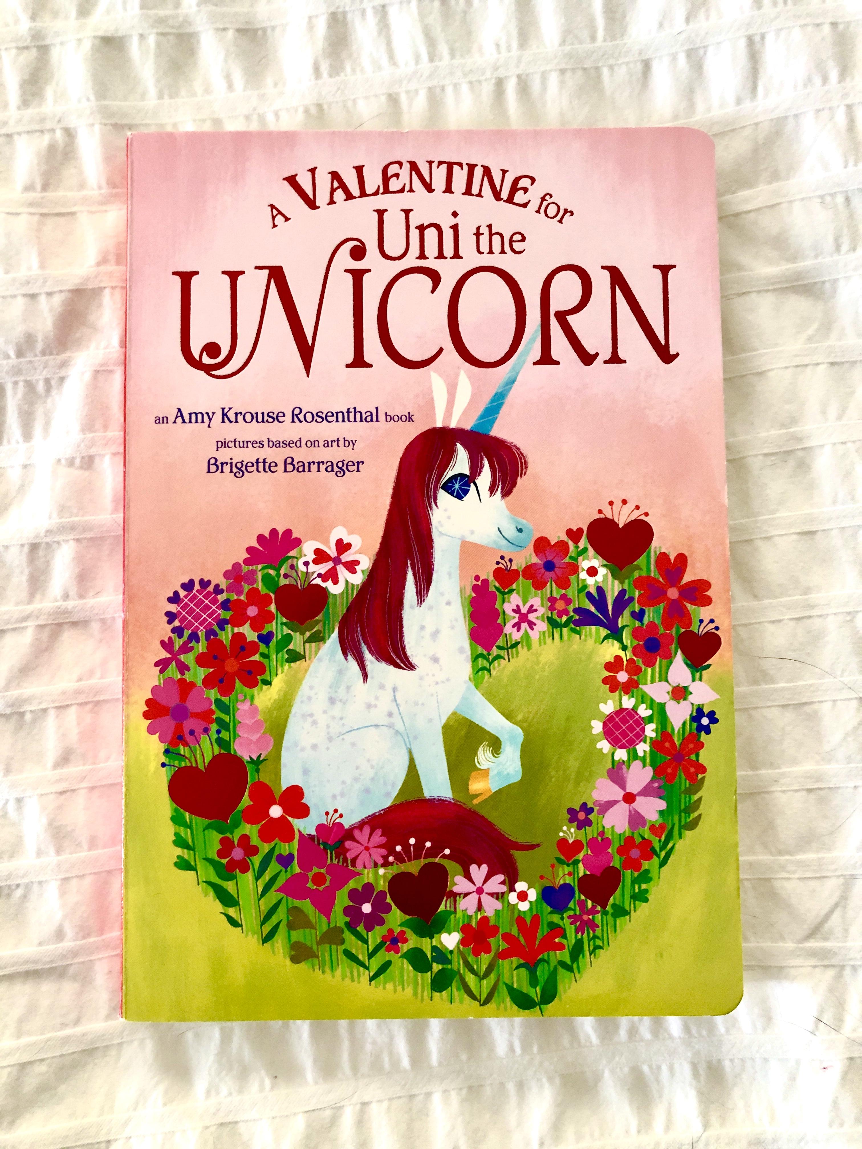 A Valentine for Uni the Unicorn book